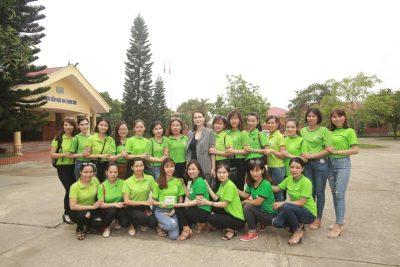Đế chế Diệp lục trong buổi viếng thăm làng trẻ SOS