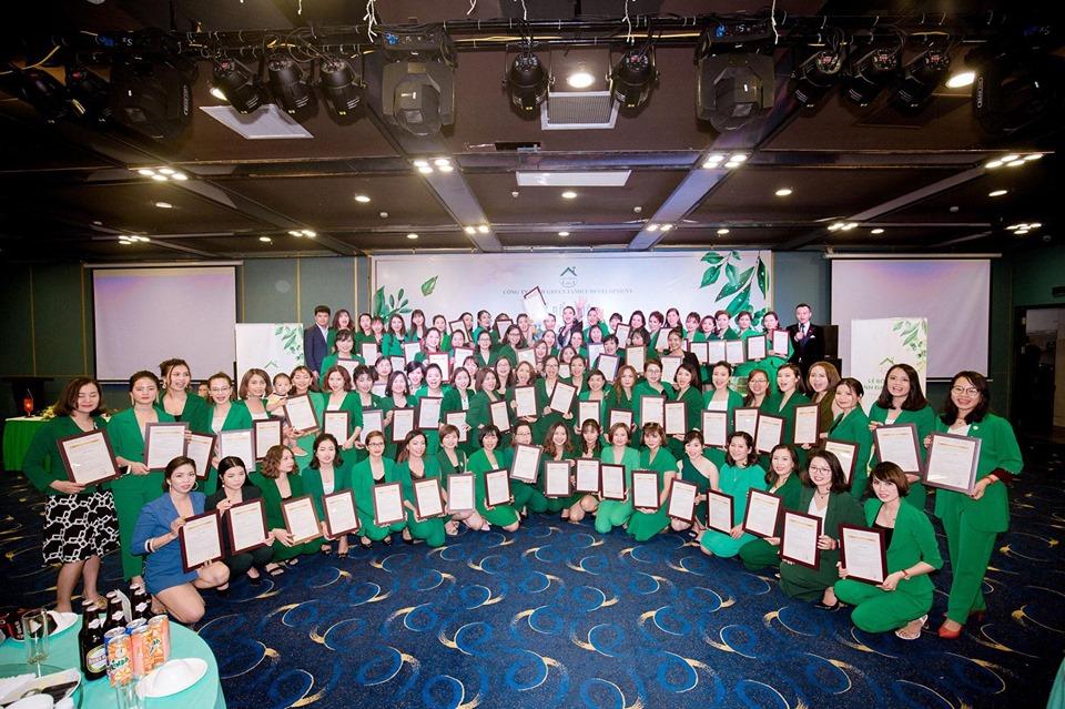 Lễ bổ nhiệm lãnh đạo cấp cao Công ty Green Family Development